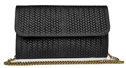 Lae In , Damen Clutch M Schwarz