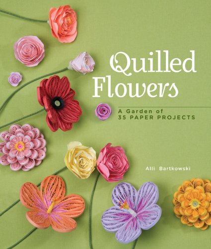 Li Bookpdf Telecharger Quilled Flowers A Garden Of 35