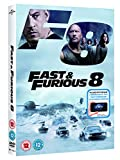 Fast & Furious 8 DVD + digital download [2017] only £9.99 on Amazon