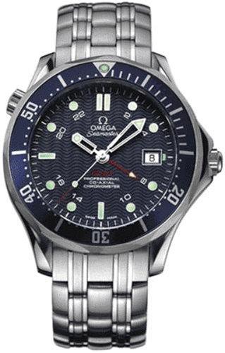 OMEGA 2535.80.00–Armbanduhr Herren, Armband in Edelstahl