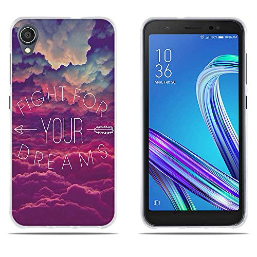 DIKAS Handyhülle für ASUS ZenFone Live L1 ZA550KL, TPU Soft case Silikon Back Cover Tasche Schutzhülle Anti-Scratch Handyhülle Handycover für ASUS ZenFone Live L1 ZA550KL (5.5