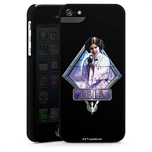 Apple iPhone X Silikon Hülle Case Schutzhülle Star Wars Merchandise Fanartikel Leia Premium Case StandUp