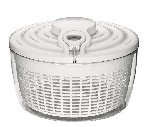 Küchenprofi 1370072200 Maxi Salatschleuder 5 Liter, 27 cm, weiß