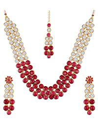 3c72d5154d7e1 Red Women's Jewellery Sets: Buy Red Women's Jewellery Sets online at ...