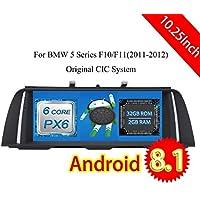 ROADYAKO 10.25 Pulgadas Android 8.1 para BMW 5 Series F10 F11 2011 2012 Radio CD de