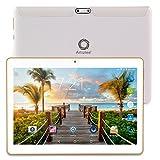 "Artizlee ATL-21T 10.1"" Tablet Pc (Android 4.4.2, Quad Core, 1280x800 IPS, Dual Sim, 3G, 1 GB RAM, 16 GB, Cámara 5.0MP, WiFi, Bluetooth, GPS, OTG), Blanco - Artizlee - amazon.es"
