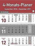 4-Monats-Planer - Kalender 2019
