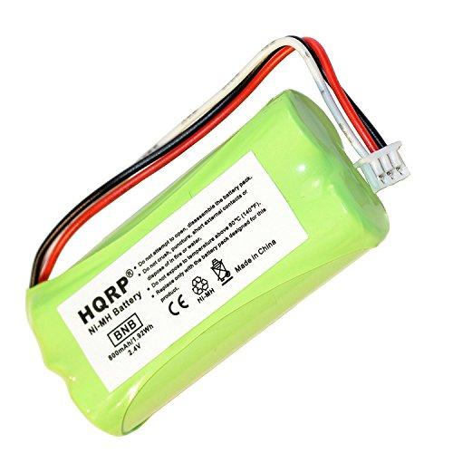 HQRP Batteria per Plantronics CT14, CT-14, CT 14 DECT 6.0 Sistema di cuffie senza fili ricambio + HQRP Sottobicchiere