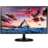 Samsung 23.5 inch (59.8 cm) LED Backlit Computer Monitor - Full HD, Super Slim AH-IPS Panel with VGA, HDMI Ports - LS24F350FHWXXL (Black)