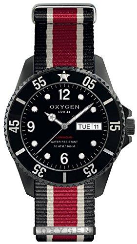 OXYGEN EX-D-MBB-44-NN-BLIVRE Montre bracelet Mixte, Nylon, couleur: multicolore