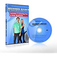 Preisvergleich für Anfänger Workout Kompilation-DVD für Bounce Minitrampolin. Enthält drei fantastische, unterhaltsame und leichte Rebounding Fitness Workouts um Gewicht zu verlieren und deinen Körper in Form zu bringen. Erhalten Sie 15% zurück auf alle Rebounder.Fitness Ge