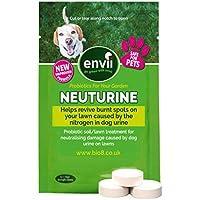 Envii Neuturine – Neutralizador Orina de Perro en Tabletas Repara el Césped Afectado por la Orina del Perro – 12 Tabletas