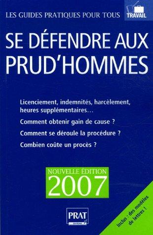Se défendre aux prud'hommes, édition 2007
