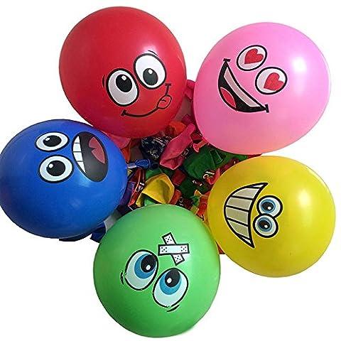 ✨ Net Solutions ✨ x5 Ballons Fous ! pour décoration d'anniversaire ou autre évènement   lot de 5