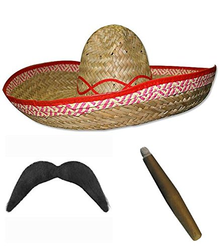 Wild West Bandit Sombrero messicano cappello e30f2abbe55b