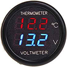 BlueBeach® 2 in 1 Digital LED voltmetro tester +