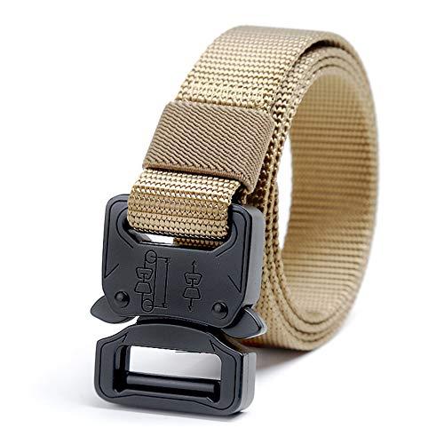 Cchao cintura regolabile tela di nylon anti-corrosione non inquinante resistente all'usura tattiche militari applicabili prestazioni per bambini,khaki,90cm