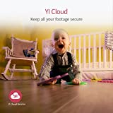 YI Home Camera 1080p Wireless IP Überwachungskamera, Smart Home Kamera mit Nachtsicht, Bewegungsmelder, 2-Way Audio, Haus Monitor Baby Monitor Pet Monitor, App für Smartphone/PC, YI Cloud Service