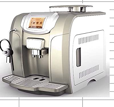 Captain&coffee Me712 Coffee Machine Beans To Cup Offer Commercial And Home Use This Machine Can Make Espresso Cappuccino Latte With Built In Milk Frother And Machiaato And More Dont Miss It by CAPTAIN&COFFEE 712
