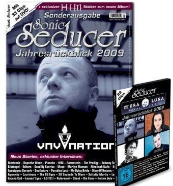 Sonic Seducer Jahresrückblick 2009 + exkl. HIM Sticker + DVD mit u. a. Tiamat, Blutengel, Placebo, ASP, Editors; Titel: VNV Nation, Mortemia
