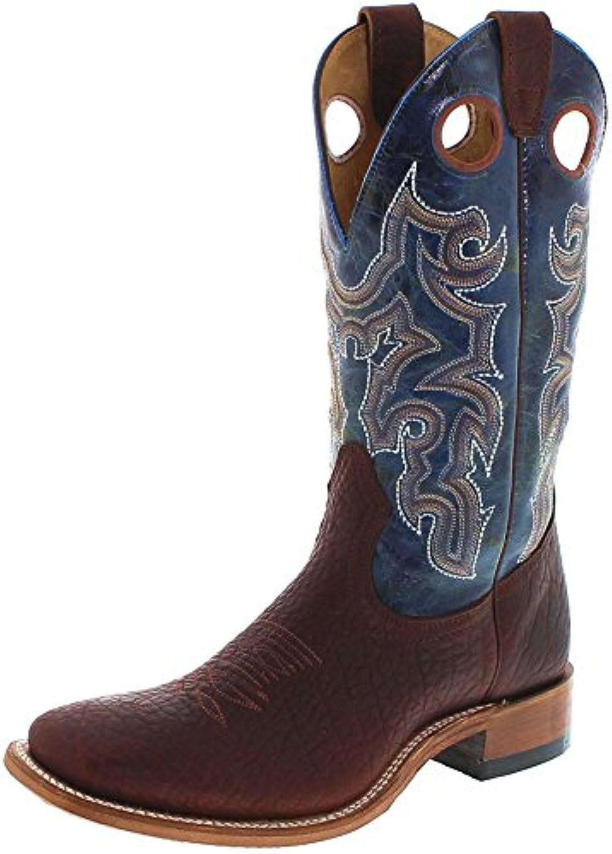 FB Fashion Boots Boulet 6370 E Bison Whisky Turqueza/Herren Westernreitstiefel Braun/Reitstiefel/HerrenstiefelTurqueza Westernreitstiefel Reitstiefel Herrenstiefel Groesse