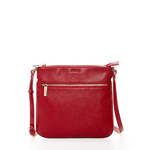 1ead757c56 SUSU The Saxon Leather Crossbody Bag … (Red) - Buy Online in Oman ...