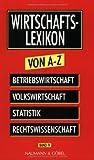 Wirtschaftslexikon von A-Z: 4 Bände by Artur Woll (1998-11-05)
