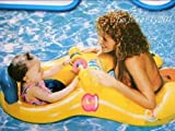 Inflatable Toy Mother &Baby Swim Float Raft Kid Chair Seat Swim Ring Pool Lake