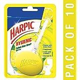 Hygienic Toilet Rim Block, Citrus, 26 g (Pack of 10)
