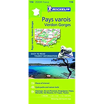 Michelin Zoom France: Pays Varois, Verdon Gorges