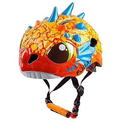 Child Bike Animal Helmet, Kids Helmet Adjustable Lightweight Safety Bicycle Helmet for Toddler and Youth Ages 3-12 Year Old Girls/Boys for Skateboard Bike BMX from ZZ helmet