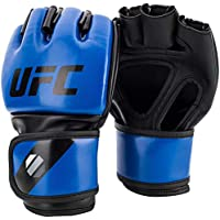 UFC Gloves Guantes MMA 5oz, Unisex Adulto, Azul, L, XL