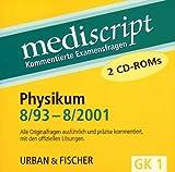 Physikum 8/93-8/2001, 2 CD-ROMs Alle Originalfragen ausf�hrlich und pr�zise kommentiert, mit den offiziellen L�sungen. F�r Windows 95/98/NT/2000 Bild