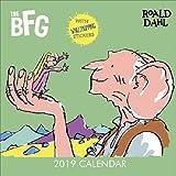Roald Dahl Quadratischer Kalender mit Aufklebern 2019