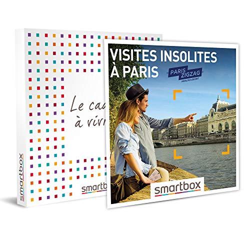 SMARTBOX - Coffret cadeau - Visites insolites à Paris - idée cadeau - 1 sortie...
