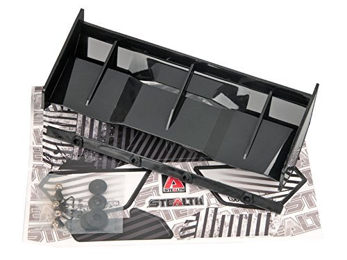 Bittydesign Stealth Spoiler schwarz als ungebohrte Ausführung