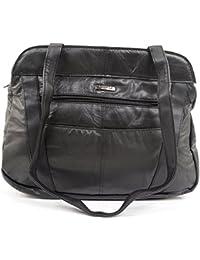 Ladies / Womens Soft Nappa Leather Casual / Practical Handbag / Shoulder Bag