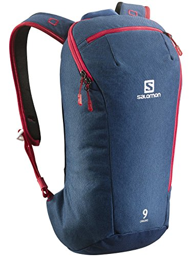 Tour Mochila Salomon Origins 9 Backpack, midnight blue chiné/big b, talla única