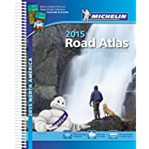 Michelin 2015 Road Atlas USA / Canada / Mexico.