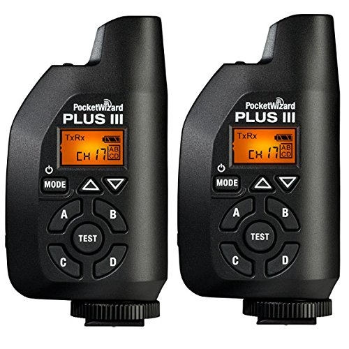 PocketWizard 433MHz Plus III Transceiver - Twin Set Pocket Wizard Plus Iii