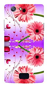 TrilMil Printed Designer Mobile Case Back Cover For Oppo Neo 5