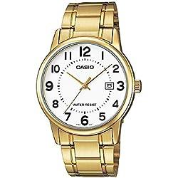 CASIO Reloj de Pulsera MTP-V002G-7
