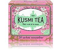 Kusmi Tea - Thé vert à la rose - Boîte 20 sachets