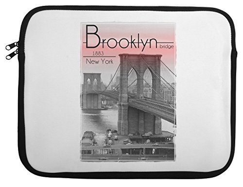 Brooklyn Bridge 1883 New York Laptop Case 13