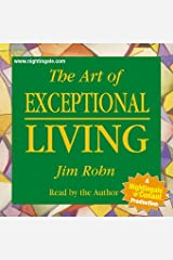 The Art of Exceptional Living by Jim Rohn (Nightingale Conant) 664CDS Abridged Audio CD