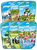 Playmobil Jouet Collection Le Zoo - Pack 6 Sets danimaux n°2
