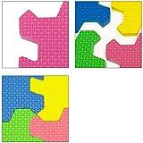 Puzzlematte 86 tlg. – Kinderspielteppich Spielmatte Spielteppich Schaumstoffmatte Matte bunt - 7