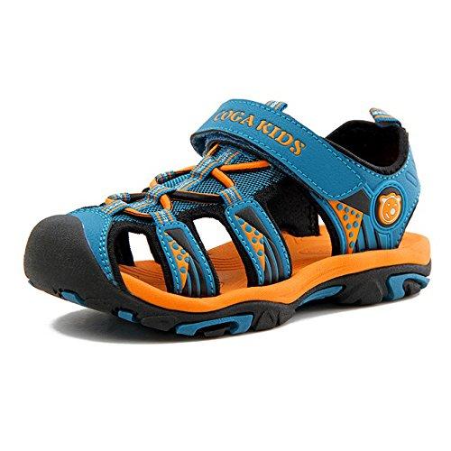 SITAILE Chaussures de Sport Sandales Mixte Enfant Extérieur Sandales Bout Fermé Garçon Fille