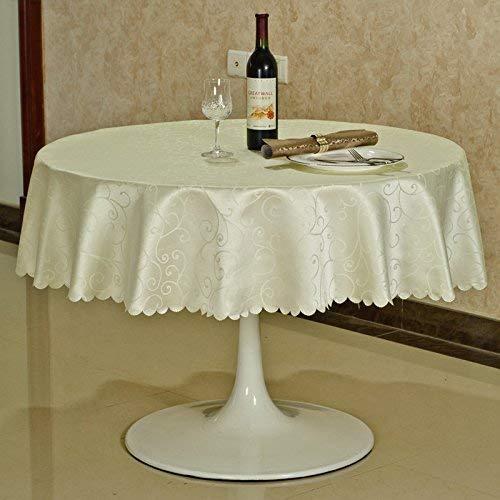 SED Haushalts-Restaurant-Tischdecken Tischdecken, rechteckig/runde Hotel-Tischdecke Europäische Tischdecke/Konferenztischdecke/Kaffee zum Abendessen Picknick-Tischset,2,4 runde,1001