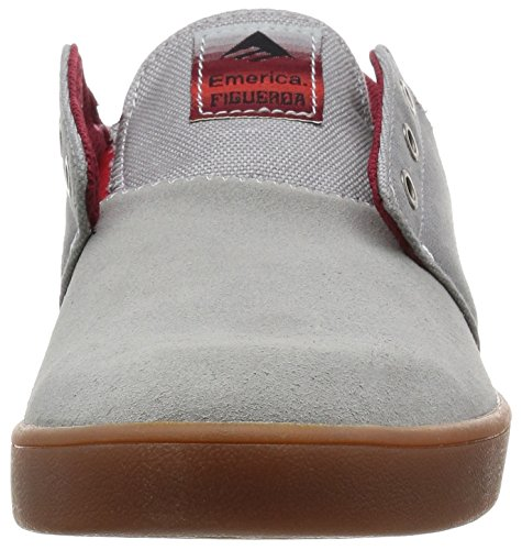 Emerica The Figueroa, Herren Skateboardschuhe grey/gum
